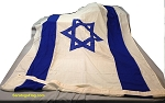 ISRAEL- 5x9ft Flag Wool Vintage